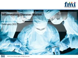 Inflammatory Diseases Market Forecast and Segments, 2017-2027