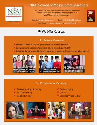 Top mass communication college in delhi