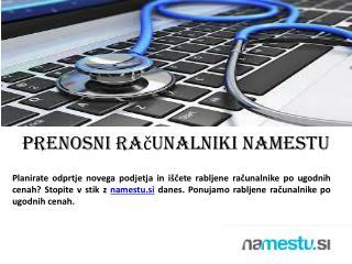 prenosni računalniki nAMESTU