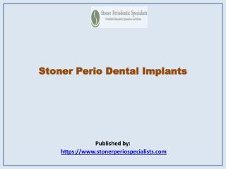Stoner Periodontic Specialists