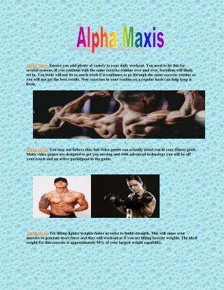 http://www.healthbuzzer.com/alpha-maxis/
