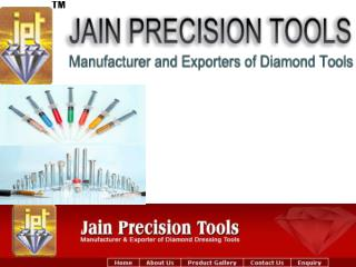 Trusted Diamond Tools and Diamond Dresser Manufacturer and Exporter