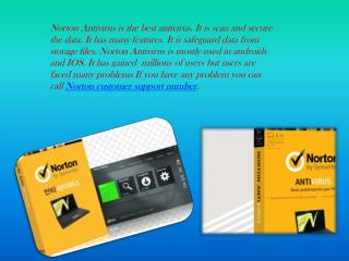 Norton antivirus technical support number