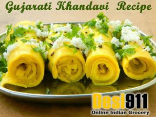 Gujarati Khandavi Recipe