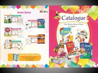 Book Catalog Designing Services