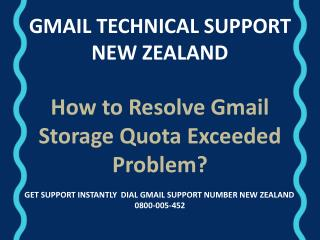 How To Resolve Gmail Storage Quota Exceeded Problem?