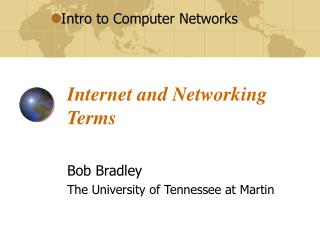 Internet and Networking Terms