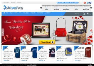 Shop NFL MLB NBA NHL COLLEGE NASCAR Licensed Sports Merchandise