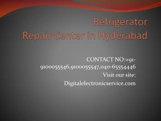 Refrigerator Repair Center in Hyderabad