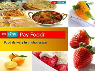 Online Food Order Delivery in Bhubaneswar