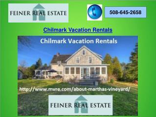 Chilmark Vacation Rentals