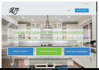 Domestic Cleaning Services in London