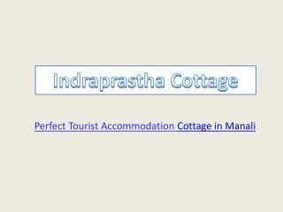 Budget Luxury Indraprastha Cottage In Manali