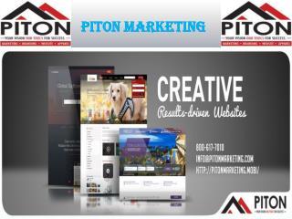 Web Development Service at Piton Marketing