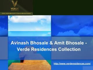 Avinash Bhosale & Amit Bhosale - Verde Residences Collection