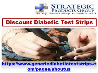 Provide Discount Diabetic Test Strips