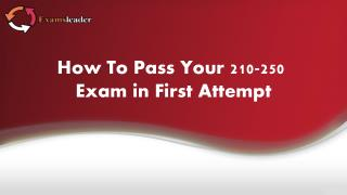 210-250 Exam Questions