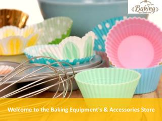 Best Collection of Baking Equipment's & Accessories