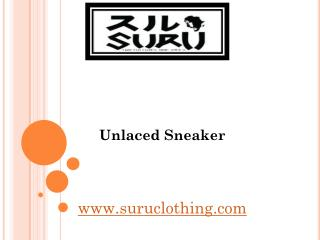 Unlaced Sneaker - www.suruclothing.com