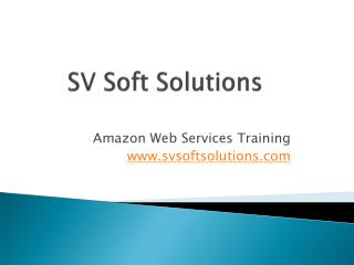 Excellent AWS Training from Certified Trainers