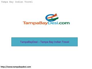 TampaBayDesi – Tampa Bay Indian Travel