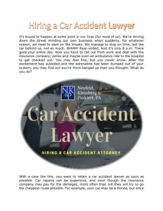Car Accident Lawyer | Car Accident Personal Injury Lawyer, Florida