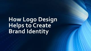 How Logo Design Helps to Create Brand Identity