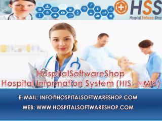 HospitalSoftwareShop - Hospital Software