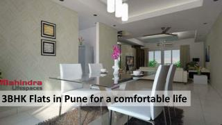 3BHK Flats in Pune for a comfortable life