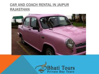 Car Rental Service in Jaipur Rajasthan India