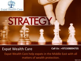 Best Investment Plans in Dubai, UAE - Expat Wealth Care