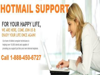 Affable Assistance via Hotmail Support 1-888-450-6727