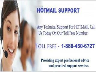Hotmail Support 1-888-450-6727 at Your Service Now
