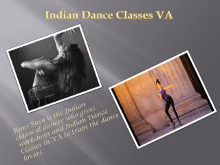 Indian Dance Classes VA