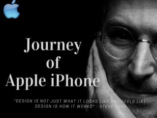 10 Year of Apple iPhone Journey