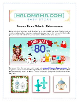 Tommee Tippee Malaysia | Halomama.com