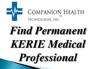 KERIE Medical Professional