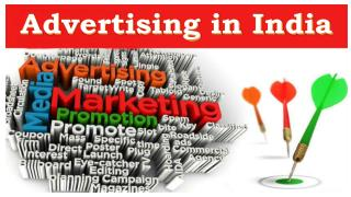 Advertising in India