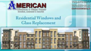 Residential Glass Repair Lincolnia VA | Call @ (703) 679-0077