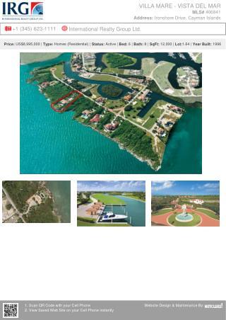 Villa Mare - Vista Del Mar - Residential Property by IRG Cayman