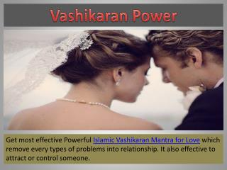 Islamic Vashikaran Mantra for Love
