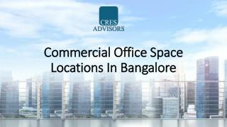 Office space for rent in Bangalore available in all Prime Locations
