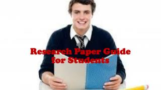 Research Paper Guide for Students
