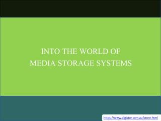 Into The World Of Media Storage Systems