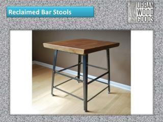 Reclaimed Bar Stools