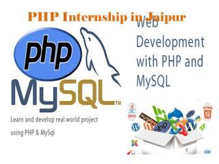 PHP Internship in Jaipur - Traininginstituteinjaipur