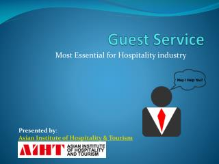 Importance of guest service in Hospitilaty