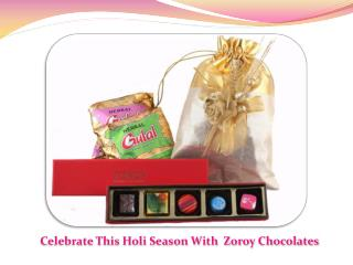 Happy Holi Milk Chocolate Available @ Zoroy.com