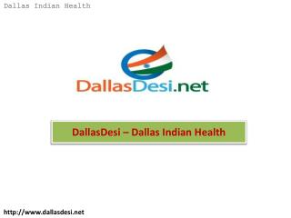 DallasDesi – Dallas Indian Health