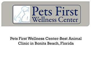 Pets First Wellness Center-Best Animal Clinic in Bonita Beach, Florida